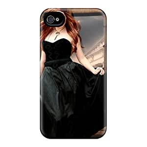Premium YsFMEjT179fFHqp Case With Scratch-resistant/ Raven Princess Case Cover For Iphone 4/4s