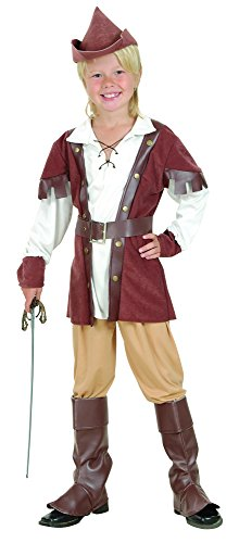 Boys Deluxe Medieval Archer Robin Hood Halloween Book Day Week Fancy Dress Costume Outfit 4-14 Years (7-9 -