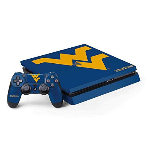 west-virginia-university-ps4-slim-bundle-skin-west-virginia-blue-background-vinyl-decal-skin-for-you
