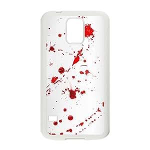 Samsung Galaxy S5 Cell Phone Case White Dexter Blood mvmb