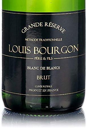 Pack mix Louis Bourgon Grande Réserve Brut | 3 Blanc de Blanc e 3 Cuvée Rosé| 0,75 L