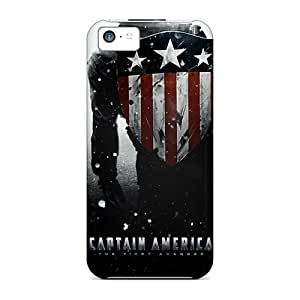 Premium Protection Captain America Game Cases Covers For Iphone 5c- Retail Packaging
