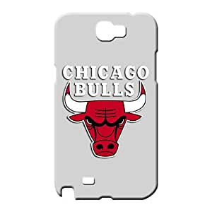 samsung note 2 Appearance High-definition Hot New phone case skin chicago bulls grey