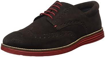 Gioseppo 30681, Zapatos de Cordones Brogue para Hombre, Marrón (Brown), 44 EU