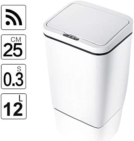 SHIHONGPING ごみ箱 自動タッチレスインテリジェント誘導モーションセンサー台所のゴミ箱は、ワイドセンサーエコ廃棄物のごみビンを開くことができます (Capacity : 12L, Color : DR HW025)