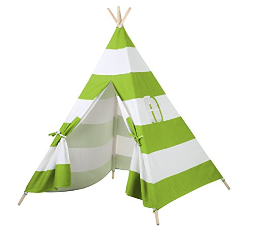 Steegic Canvas Teepee Playhouse Indian