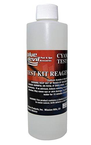 Blue Devil B7118 Cyanuric Acid Test, 8 oz Bottle ()