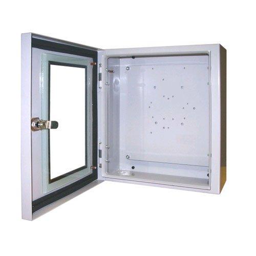 12X10X6 STEEL ENCL WINDOW & KEY LOCK