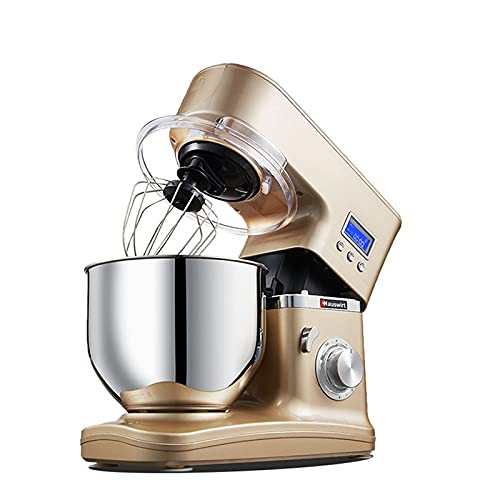 Stand Mixer 8 Speed Tilt-Head Food Mixer 1200W Multi Functional Electric Kitchen Food Processor Mixer with Smart Time…