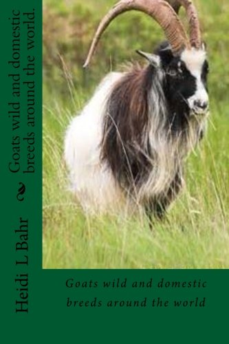 (Goats wild and domestic breeds around the world.: Goat breeds)