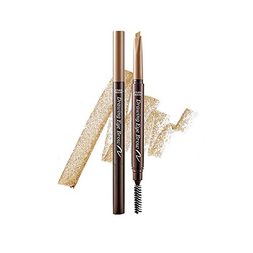 Etude House Drawing Eye Brow #7 Light Brown | Long Lasting Eyebrow Pencil for Soft Textured Natural Daily Look Eyebrow…