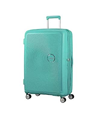 American Tourister Curio 69cm Expandable Spinner Suitcase Mint Green