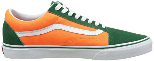 Vans Old Skool Brite Schwarz / Neon Pink Sneakers Grün / Neon Orange
