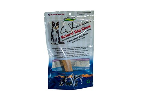 X-large Rawhide (Le Sharma Natural Himalayan Dog Chew – Extra Large 6 oz (170 gm) - For dogs over 80 lb -Yak Milk Dog Chews - All Natural Hard Cheese - Long Lasting - Alternative to Rawhide and Bone - 100% Satisfaction Guarantee.)