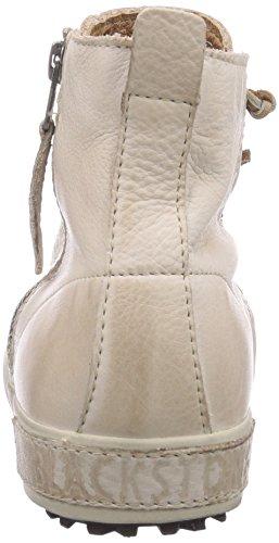 Blackstone JL18 - zapatillas deportivas altas de cuero mujer beige - Beige (Stone)