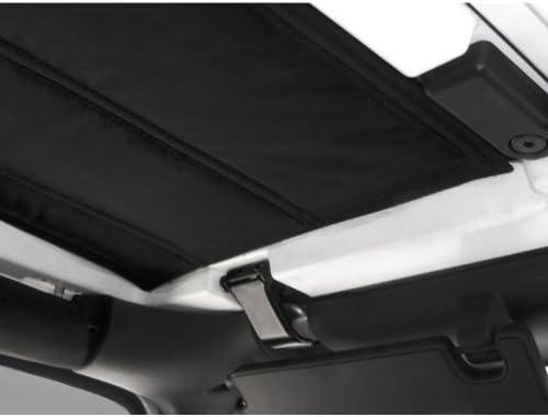 Black 2007-2010 Design Engineering 050132 Boom Mat Sound-Deadening Headliner for 2-Door Jeep Wrangler