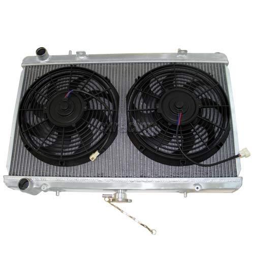 CXRacing Radiator + Two 12