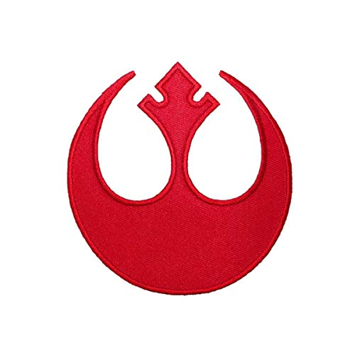Star Wars Rebel Alliance Logo Rogue Squadron Red Embroidered Iron On Patch -