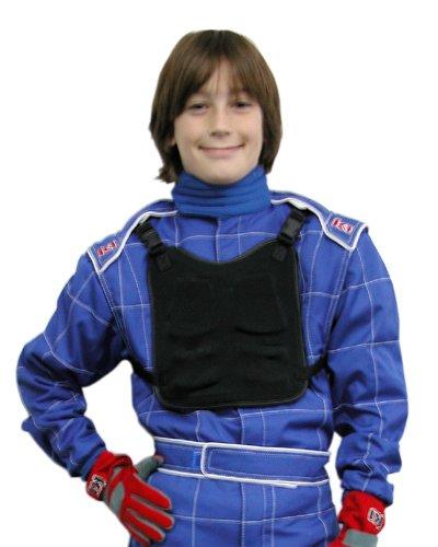 K1 Race Gear 700430 Black Junior Chest Protector