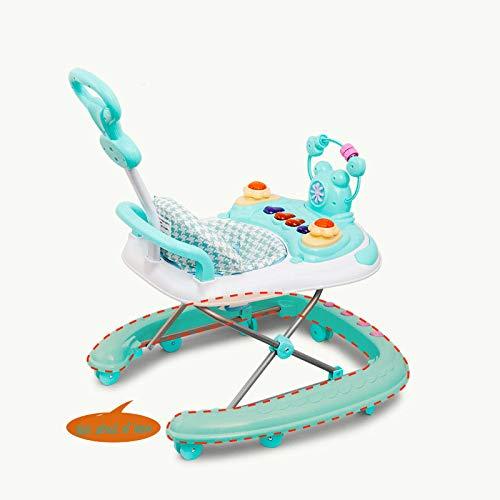 LYXCM Baby Walker First Step Activity Toy Aprenda Y Juegue Silla O Asiento Portatil para Bebes con Bandeja Extraible
