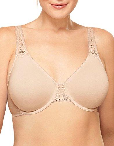 Wacoal Women's Soft Embrace Underwire Bra, Sand, 40D (Camisole Wacoal Underwire)