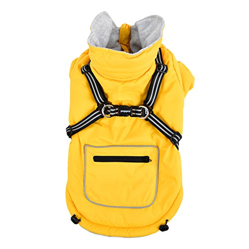 Puppia Mallory Pet Coat, Large, Yellow by Puppia