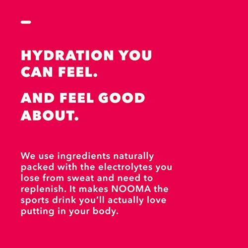 NOOMA Organic Electrolyte Sports Drink, Naturally Hydrating, Coconut Water Base, Certified Keto, Vegan, Gluten Free and More, No Added Sugar, 30 Calories, Watermelon Lime 16.9 Fl Oz, Pack of 12 4