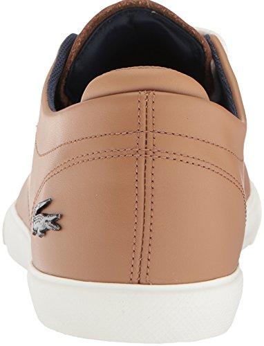 Lacoste Mäns Esparre Sneakers Ljus Brun / Off Vitt Läder