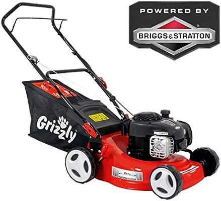 Grizzly BRM 4210 - Cortacésped de gasolina 20 1,6 kw 2,1 PS 42 cm ...