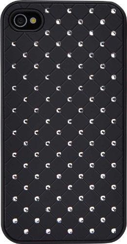 Case Logic CLPS-2902K Etui de protection en polycarbonate avec cristaux pour iPhone 4/4S Noir