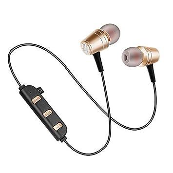Auriculares Bluetooth Deportivos En El Oído Teléfono Inalámbrico con Tarjeta De Dos Orejas Auriculares Universales: Amazon.es: Electrónica