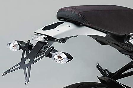 XSR900 2015 DPM Kit Porte Plaque R-0771 Accessoires De Pretto Moto - Support de Plaque dImmatriculation - 100/% Made in Italy Visserie et Lumi/ère LED Inclus