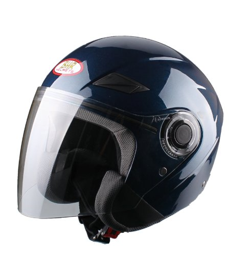 270 opinioni per BHR 49871 Casco Demi-Jet, Taglia XL, Blu