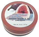 Cheap Bath & Body Works Brown Sugar & Fig Pleasures Collection Body Butter 5 oz