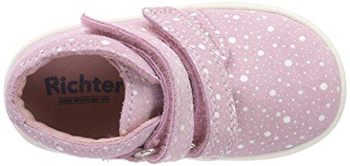 Richter Kinderschuhe Jimmy, Zapatos de Cordones Derby Para Niñas Pink (Candy)