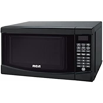 RCA RMW733-BLACK Microwave Oven, 0.7 cu. ft., Black