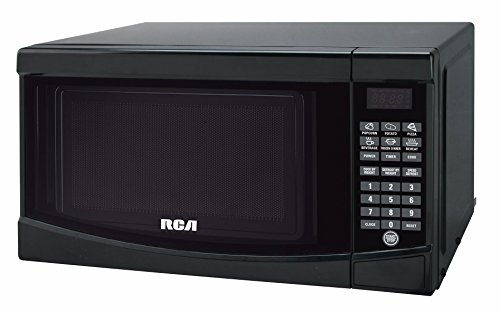 RCA RMW733-BLACK Microwave Oven, 0.7 cu. ft., Black (Small Black Microwave Oven compare prices)