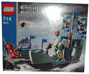 LEGO Knights Kingdom: Knights' Attack Barge (8801) (Lego Knights Kingdom Santis)