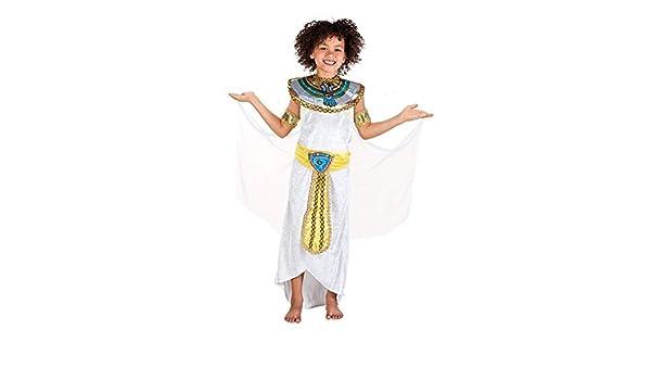 DISBACANAL Disfraz egipcia para niña - -, 10-12 años: Amazon.es ...
