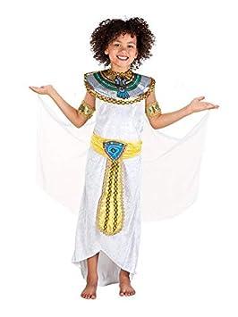 DISBACANAL Disfraz egipcia para niña - Único, 7-9 años: Amazon.es ...