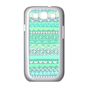 Green Tribal Pattern ZLB555545 Personalized Case for Samsung Galaxy S3 I9300, Samsung Galaxy S3 I9300 Case