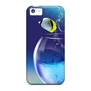Awesome Cases Covers/iphone 5c Defender Cases Covers(fishy Life)