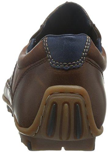 Rieker 8972, Mocasines para Hombre Marrón (Kastanie/amaretto/royal / 25)