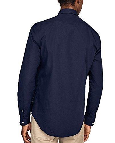 Zara Herren Einfarbiges hemd 0070/296