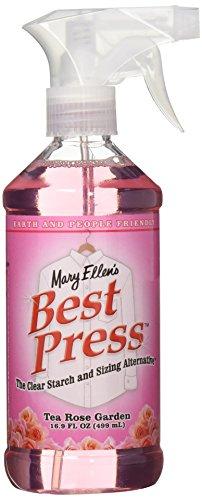 Mary Ellen's Best Press Clear Starch Alternative 16.9 Ounces-Tea Rose (Garden Quilting Fabric)