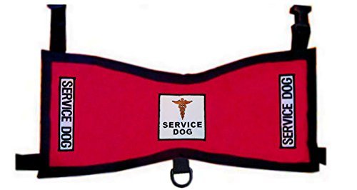 Working Service Dog Vest Deluxe (Red, Tiny 4-7 lbs) For Sale