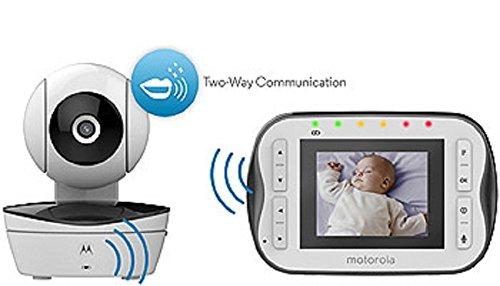 Motorola Digital Video Baby Monitor Mbp41s With Video 2 8