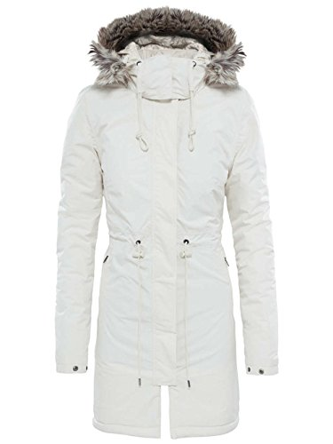 Face Zaneck North Metropolis Parka Da Donna White Vintage The OwB6qT6