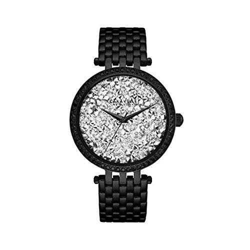 Bulova Womens Quartz Stainless Steel Casual Watch ColorBlack Model 45L160