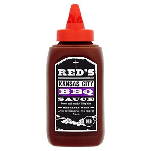 Kansas City Salsa Barbacoa 320 G De Rojo: Amazon.es: Alimentación y bebidas